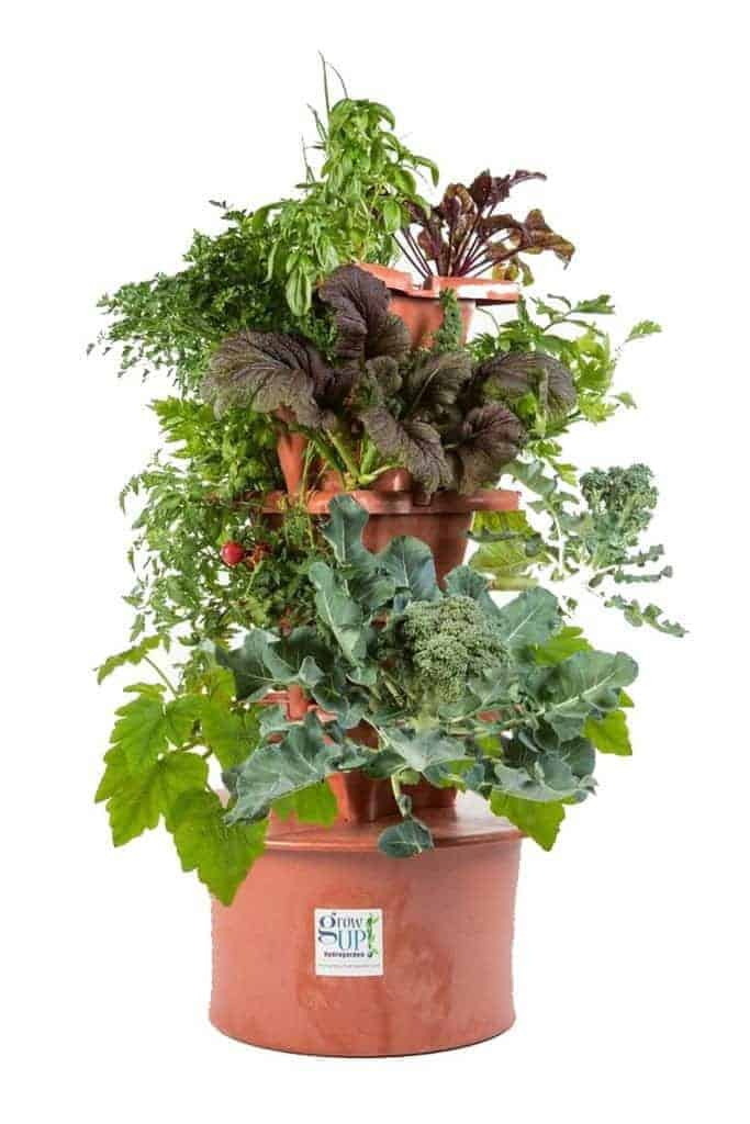 Best hydroponic herb gardens check whats best pros easy to assemble and easy to use the pots are made of a thick durable plastic and the assembly very easy since it is vertical you get more growing workwithnaturefo