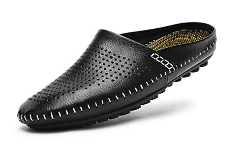 mens bedroom shoes. These V J Leather House shoes are a great option if you love leather slip  on Sometimes can be little hot in the summer but this design has The Best Summer Slippers for Men Check What s