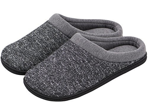 0a8d1790c37 HomeTop market these slippers as an all year slipper that will keep your  feet warm in the winter and cold in spring and summer  they are a pretty  thick ...