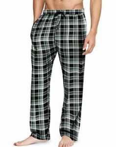 Hanes Men's Cotton Flannel Lounge Pajama Pants