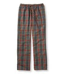 L.L. Bean flannel PJ pants