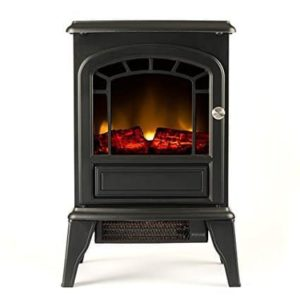 Aspen Portable Free Standing Electric Fireplace Stove
