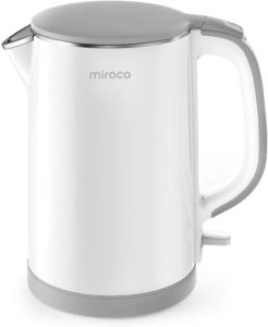 Miroco Double Wall 100% Stainless Steel Cool Touch Tea Kettle