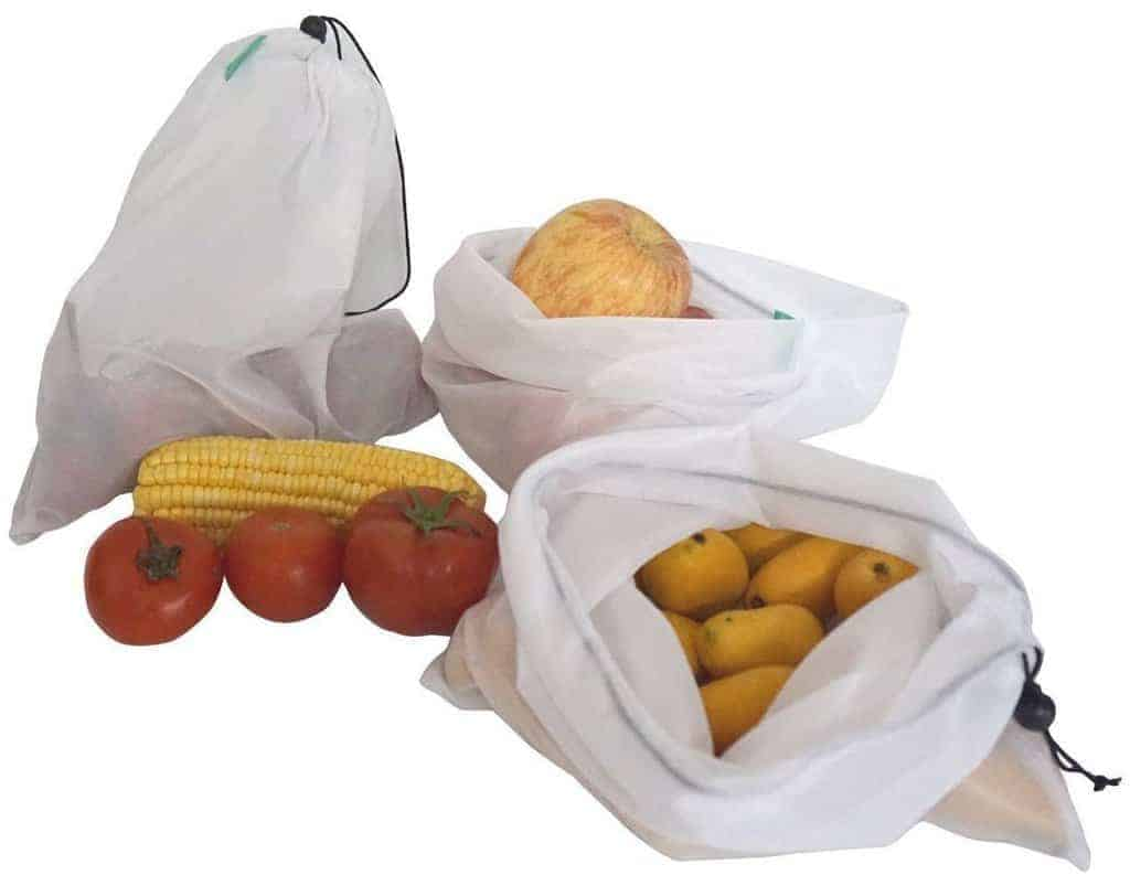 Purifyou Premium Reusable Mesh Produce Bags Are One Of The Most Por Options Going These Days They Work Great For Both Replacing Plastic