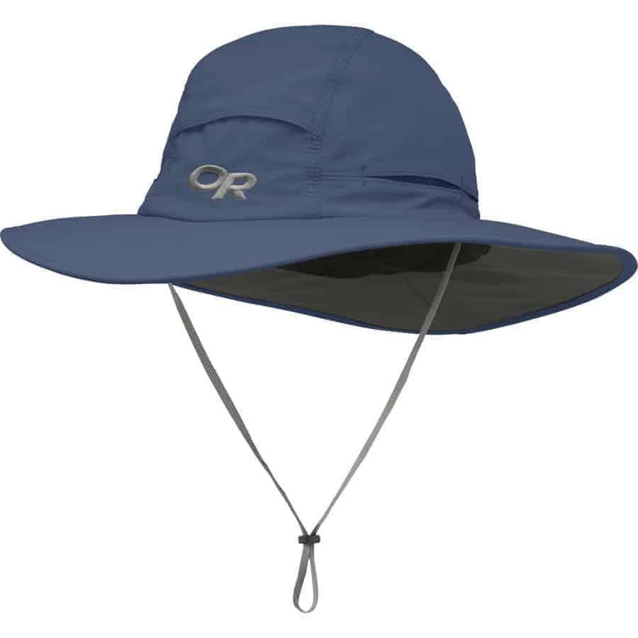5ef6115c005 The Outdoor Research Sombriolet is one of the most popular men s sun styles  going. It does a great job protecting the top of your head