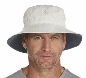 Coolibar UPF 50+ Men's Reversible Bucket Hat