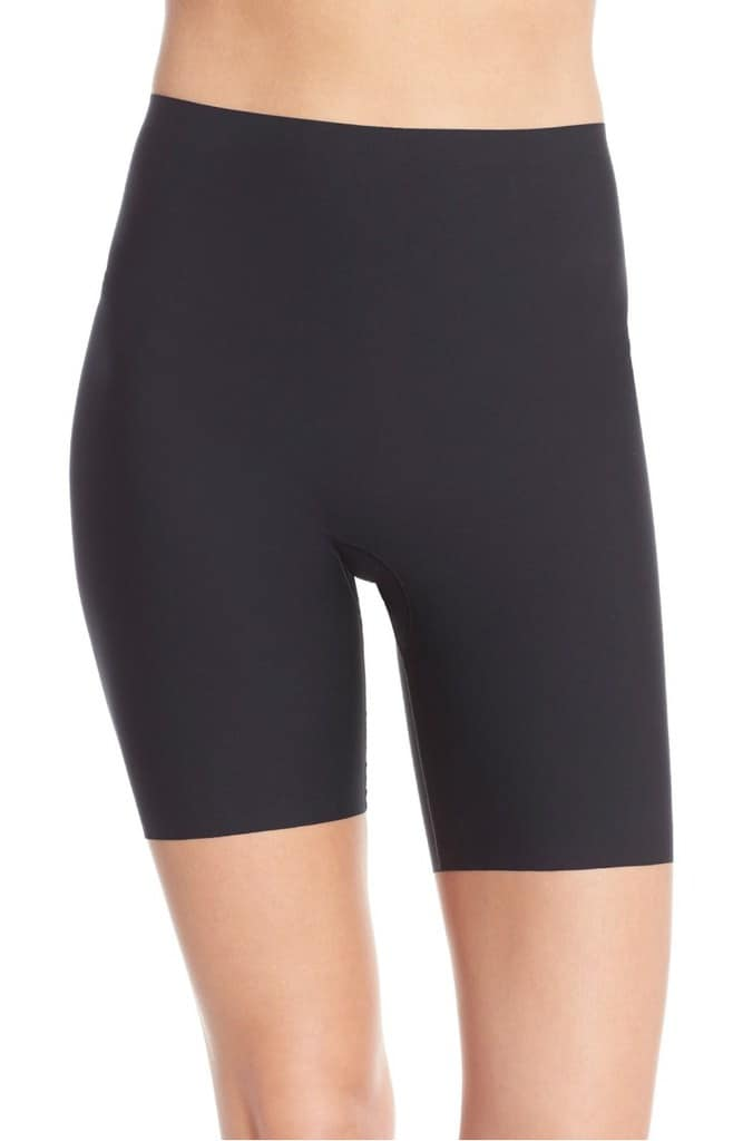 8e791a8a6b8 Spanx has quite a few options for thigh slimmers with slightly different  lengths and levels of support.