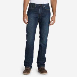 Eddie Bauer Flannel-Lined Flex Jeans