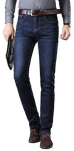 Fredd Marshall Fleece Lined Skinny Slim Fit Warm Stretch Jeans