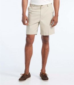L.L Bean Wrinkle-Free Double L® Chino Shorts