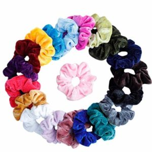Mandydov 20 Pcs Hair Scrunchies