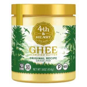 Flavored Grass-Fed Ghee Butter by 4th & Heart