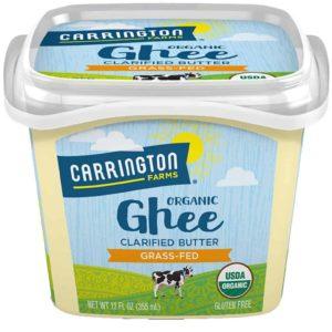 Carrington Farms USDA Certified Organic Grass Fed Ghee