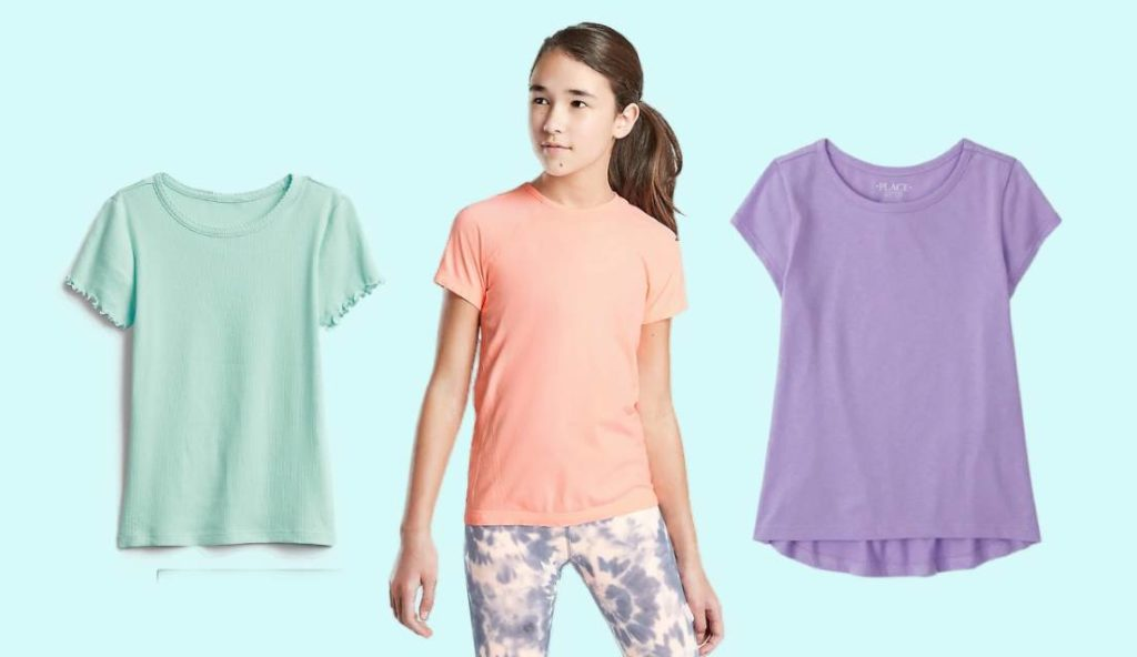 The Best Basic T-shirts for Tween Girls