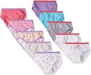 Hanes Girls' Brief Underwear